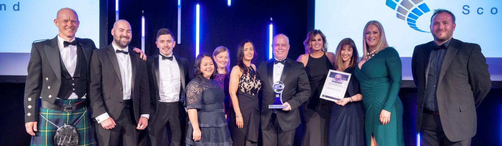 Warmworks Scotland team at GO Awards